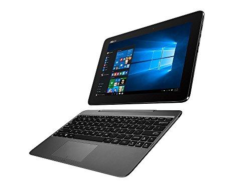 ASUS 2in1 タブレット ノートパソコン TransBook T100HA-GRAY Windows10/10.1インチワイド/メタルグレー