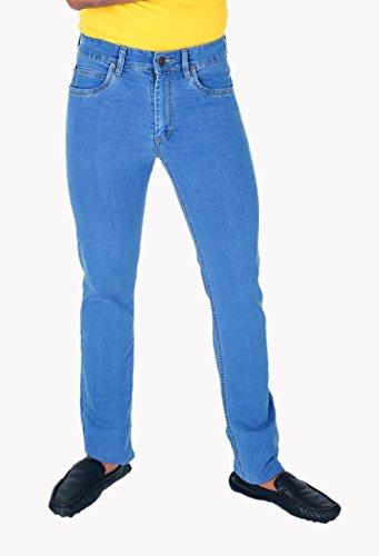 DAD Authentic Denim Stretchable Jeans For Men (Dad-422-Stone-LightBlue)