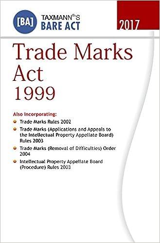 Trade Marks Act 1999