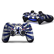 Elton PS4 Controller Designer 3M Skin For Sony PlayStation 4 DualShock Wireless Controllers (set Of Two Controllers Skin) - Chelsea-Football