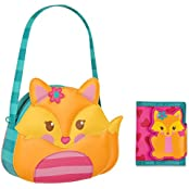 Stephen Joseph Little Girls Fox Purse And Wallet Combo Gifts For Kids