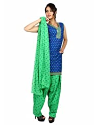 Fashiontra Women's Cotton Straight Cut Salwar Suit - B00KNW1PUO