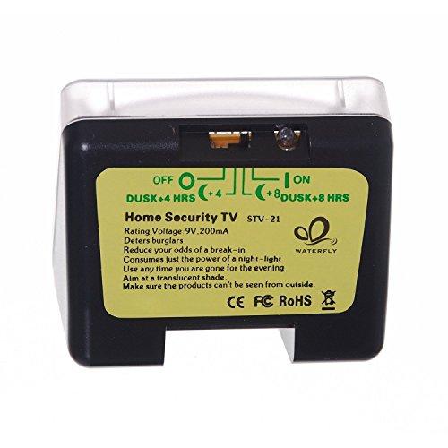 AGPTek® LED TV Simulator, Fernseh Attrappe-Fake, Einbruchschutz, Home Security, Lichtsensor und Timer, 3 Programme wählbar, 20 farbige LEDs - 7