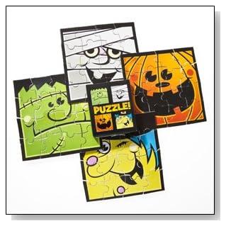 Mini Halloween Puzzles