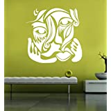 Hoopoe Decor Abstract Art Wall Stickers And Wall Decals, A Wall Art Best For Home Decoration