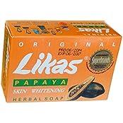 Likas Papaya Herbal Soap For Skin Whitening 1 Pc