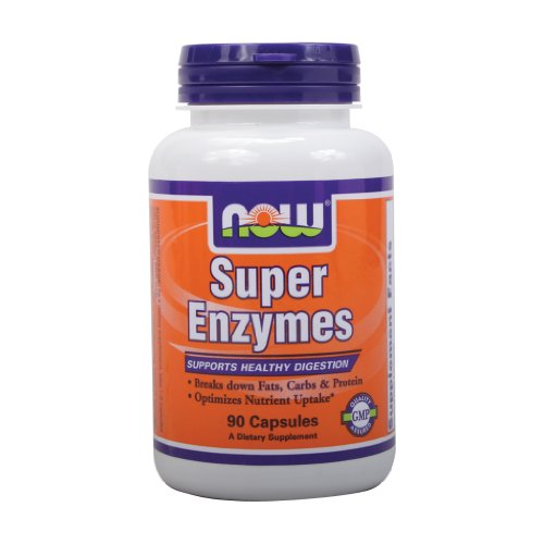 NOW Foods Super Enzymes -- 90 Capsules