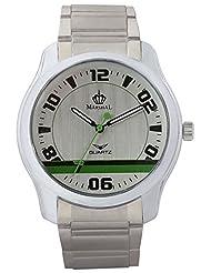MARSHAL Men Silver Analogue Off-White Dial Men's Watch - (MRSL-MEN-005)