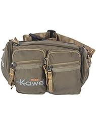 Kawei Knight Nylon Fanny Pack Waist Bag Multi-pockets Sling Army Green