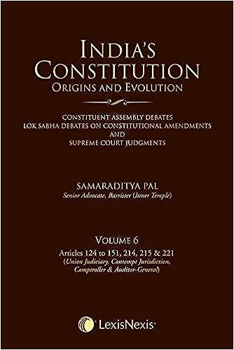 India'S Constitution –Origins And Evolution - Vol 6 - S. Pal