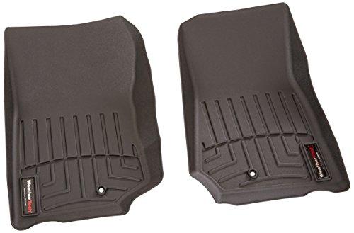 WeatherTech Custom Fit Front FloorLiner for Select Jeep Wrangler Models (Black)