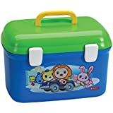 Lion Star Zella Case Baby Suitcase Kids Lunch Carrier Picnic Food Carrier Box PREMIUM Quality Plastic Food Toys...