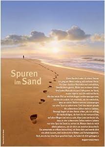 Spuren im Sand - Poster: Amazon.de: Margaret Fishback