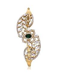 Eclat Brass Gold Plated Bracelet For Women New Fashion Jewelry (811490GG)