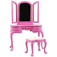Generic Doll Bjd 1/6 Scale Furniture Azone/Jerryberry /Blythe/Ds Dressing Table/Stool