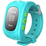 Q50 GPS Positioning Of The Child Watch Mobile Phone Blue Wai Wen - B01JKN2U4G
