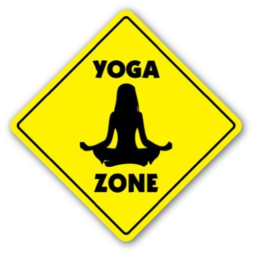 Yoga Sign Board