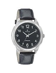 Titan Neo Black Dial Analog Watch For Men-1585SL08