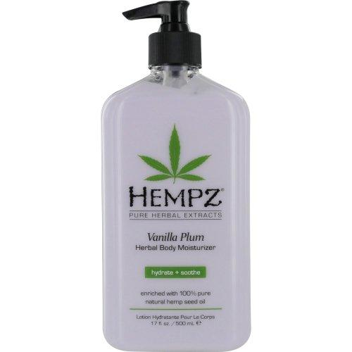 Hempz Vanilla Plum Herbal Body Moisturizer 17 Ounce
