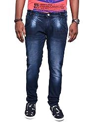 Jugend Regular Fit Black Stretchable Jeans For Men