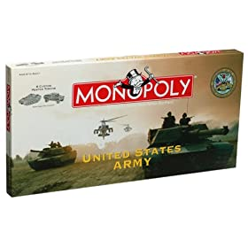 Click to order the US Army Monopoly edition from Amazon!