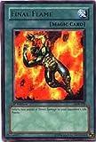 Yu-Gi-Oh Blue Eyes White Dragon Foil Card - Final Flame LOB-100