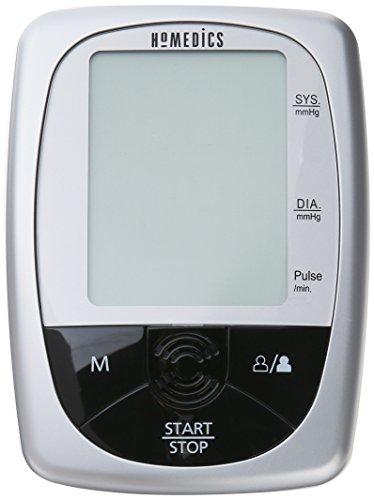 HoMedics BPA-260-CBL Automatic Blood Pressure Monitor, Gray