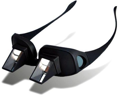HANBUN 寝ながら スマホ 読書 TV 鑑賞 ミラー 搭載 メガネ 反射メガネ 猫背改善 メガネ 老眼鏡 近視眼鏡兼用