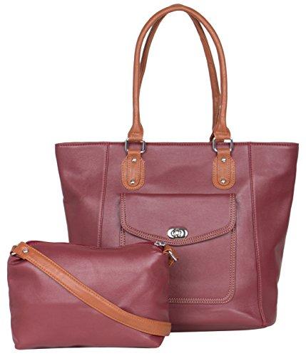 ADISA AD1014 Women Handbag With Sling Bag