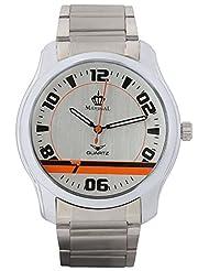 MARSHAL Men Silver Analogue Off-White Dial Men's Watch - (MRSL-MEN-004)