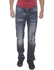 Pepe Jeans Blue Low Rise Slim Fit Jeans (Vapour Fit) - B01L6X3NJY