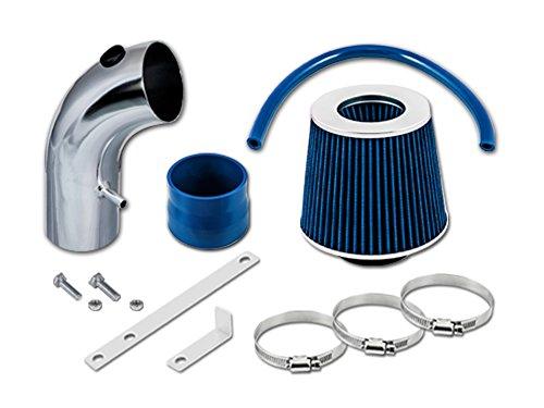 TOYOTA 90 91 92 93 94 95 96 97 98 99 Celica ST GT GTS 1.6L, 1.8L, 2.2L L4 Short Ram Intake Sr-ty14 with Blue Filter1