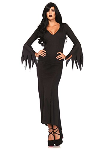 Great Group Halloween Costumes: The Addams Family - Leg Avenue Women's Morticia dress