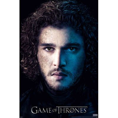 Game of Thrones Season 3 Jon Snow Poster
