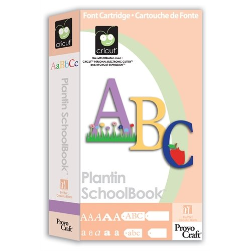 Cricut Cartridge Plantin Schoolbook