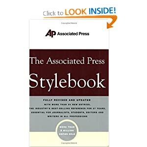 The Associated Press Style Book