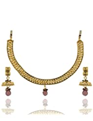 Goldencollections Gold Design Necklace Set