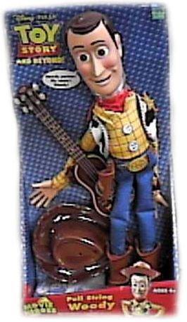 Disney Toy Story & Beyond Talking Pull String Woody Doll