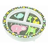 """Sugar Booger """"Numbers"""" Feeding Collection Divided Suction Plate"""