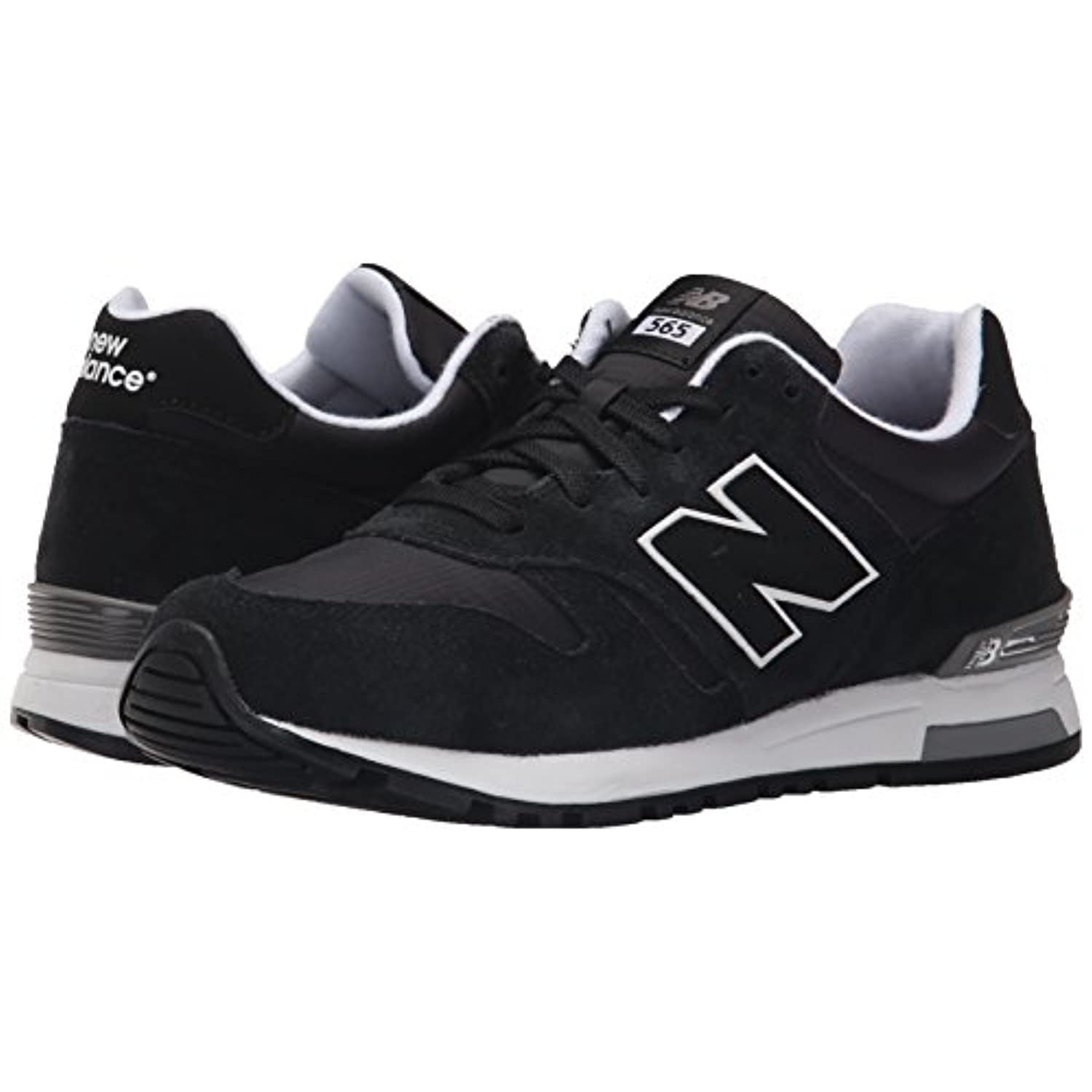 New Balance Men's Ml565 Classic Running Shoe, Black | eBay