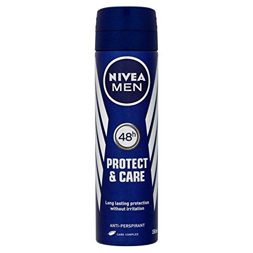 150 Ml : Nivea Men Protect And Care Anti-Perspirant Deodorant Spray 150 Ml - Pack Of 6