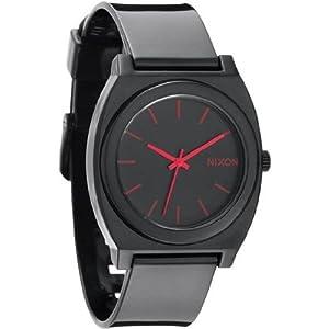 NIXON (ニクソン) 腕時計 TIME TELLER P タイムテラーピー BLACK/BRIGHT PINK NA119480-00 ユニセックス