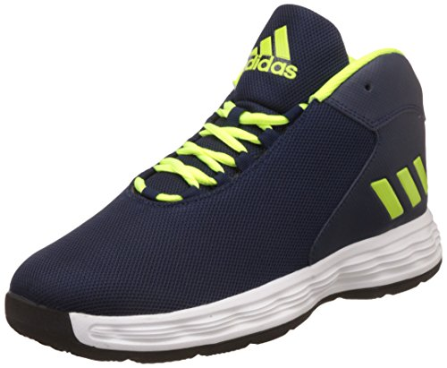 buy popular fd307 317f9 Adidas Mens Hoopsta Leather Basketball Shoes