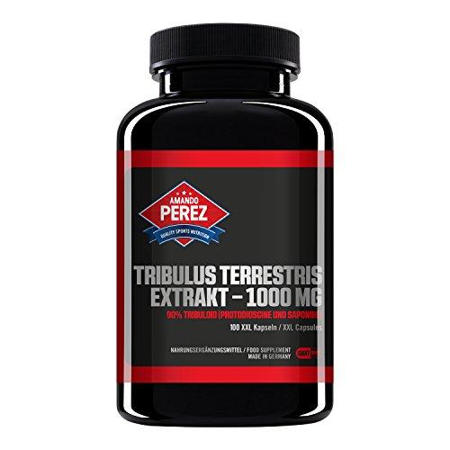 Amando Perez Tribulus Terrestris Extrakt - 1000 mg - 90% Tribuloid -...
