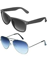 Zyaden COMBO Of Wayfarer Sunglasses & Aviator Sunglasses (Combo-16)
