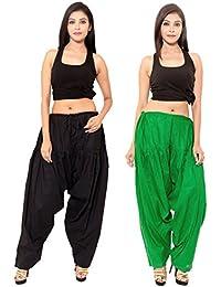 SPK Impact BLACK GREEN Cotton Patiala Salwar