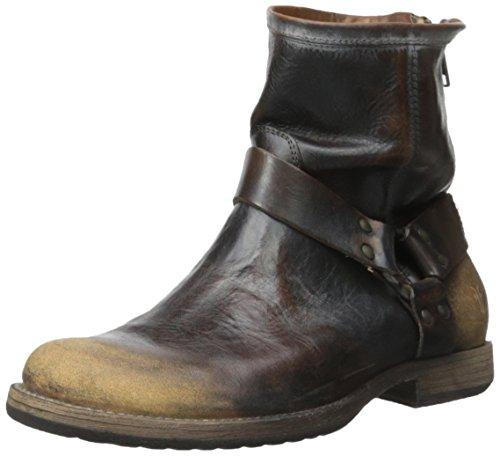FRYE Men's Phillip Harness Boot Dark Brown 10 M US