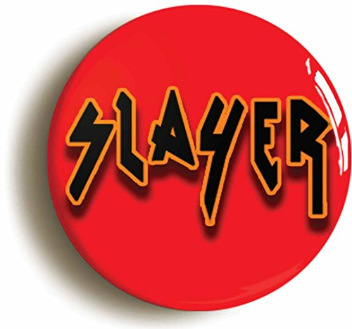 Slayer Thrash Metal Button Pin (Size is 1inch Diameter) Heavy Rock Music