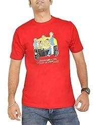 Stallion Cottons Men's Round Neck Cotton T-Shirt - B00ZIHPZTG
