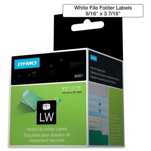 30327 1 Up File Folder Label 9/16 X 3-7/16 260 Labels